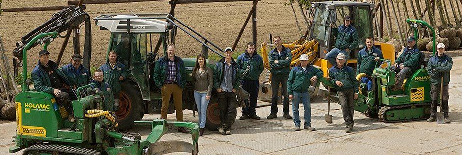 Boomkwekerij Frowein - Team